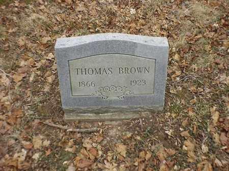 BROWN, THOMAS - Brown County, Ohio | THOMAS BROWN - Ohio Gravestone Photos