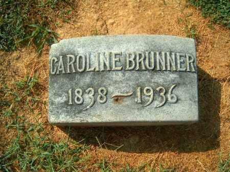 BRUNNER, CAROLINE - Brown County, Ohio | CAROLINE BRUNNER - Ohio Gravestone Photos