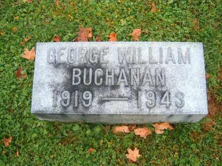 BUCHANAN, GEORGE  WILLIAM - Brown County, Ohio   GEORGE  WILLIAM BUCHANAN - Ohio Gravestone Photos