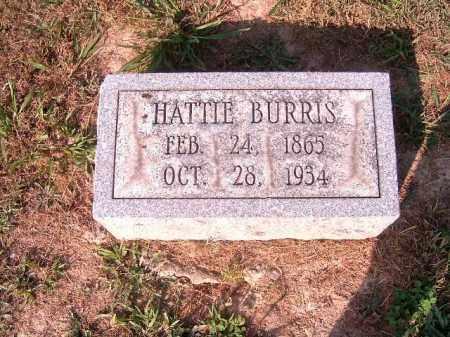 BURRIS, HATTIE - Brown County, Ohio | HATTIE BURRIS - Ohio Gravestone Photos