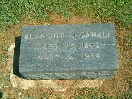 CAHALL, BLANCHE  J - Brown County, Ohio | BLANCHE  J CAHALL - Ohio Gravestone Photos