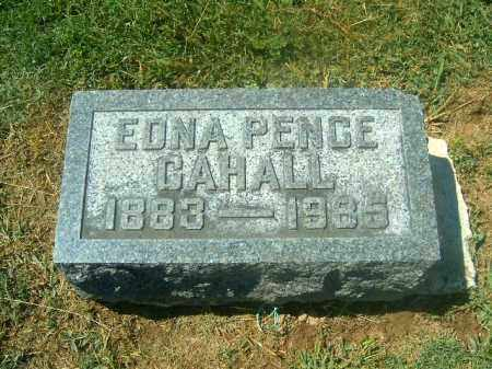 PENCE CAHALL, EDNA - Brown County, Ohio | EDNA PENCE CAHALL - Ohio Gravestone Photos