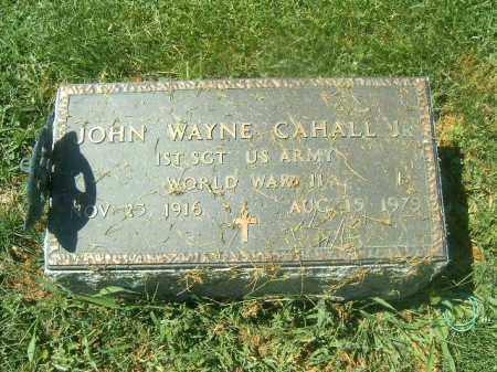 CAHALL, JOHN WAYNE - Brown County, Ohio | JOHN WAYNE CAHALL - Ohio Gravestone Photos