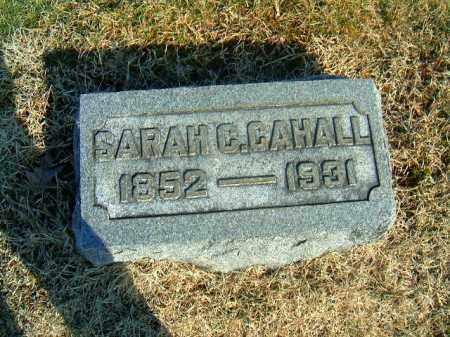 CAHALL, SARAH  C - Brown County, Ohio | SARAH  C CAHALL - Ohio Gravestone Photos