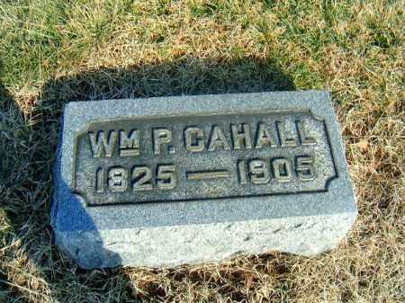 CAHALL, WM  P - Brown County, Ohio   WM  P CAHALL - Ohio Gravestone Photos