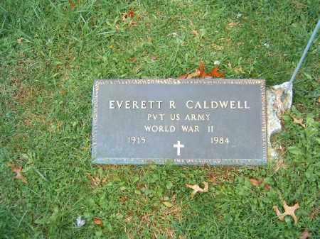 CALDWELL, EVERETT  R - Brown County, Ohio   EVERETT  R CALDWELL - Ohio Gravestone Photos
