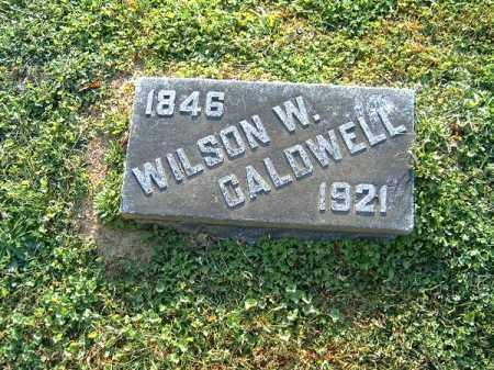 CALDWELL, WILSON  W - Brown County, Ohio   WILSON  W CALDWELL - Ohio Gravestone Photos