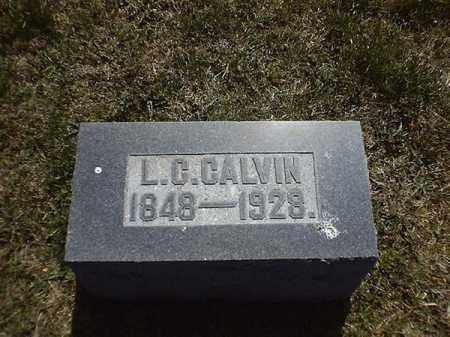 CALVIN, L  C - Brown County, Ohio | L  C CALVIN - Ohio Gravestone Photos