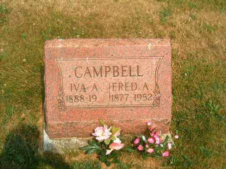 CAMPBELL, IVA  A - Brown County, Ohio | IVA  A CAMPBELL - Ohio Gravestone Photos