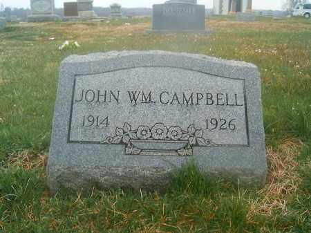 CAMPBELL, JOHN  WILLIAM - Brown County, Ohio | JOHN  WILLIAM CAMPBELL - Ohio Gravestone Photos