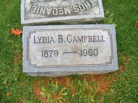 CAMPBELL, LYDIA  B - Brown County, Ohio | LYDIA  B CAMPBELL - Ohio Gravestone Photos