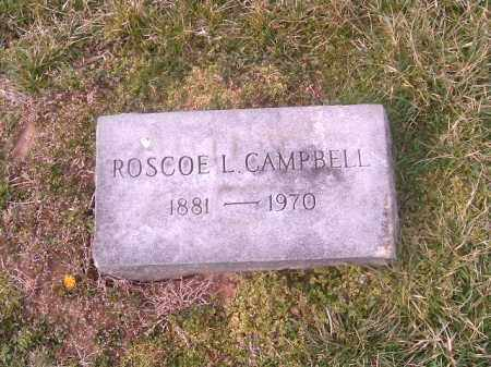 CAMPBELL, ROSCOE   L - Brown County, Ohio | ROSCOE   L CAMPBELL - Ohio Gravestone Photos