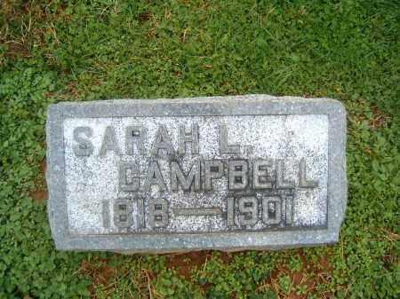 CAMPBELL, SARAH  L - Brown County, Ohio | SARAH  L CAMPBELL - Ohio Gravestone Photos