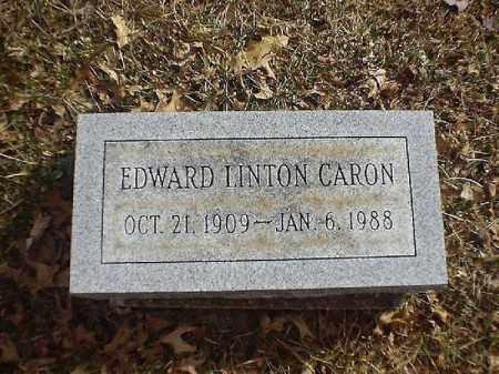 LINTON CARON, EDWARD - Brown County, Ohio | EDWARD LINTON CARON - Ohio Gravestone Photos
