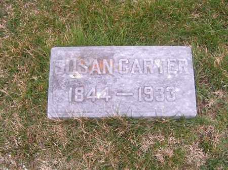 CARTER, SUSAN - Brown County, Ohio | SUSAN CARTER - Ohio Gravestone Photos