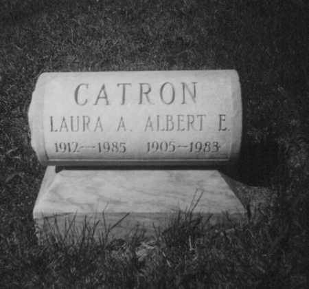 YOUNG CATRON, LAURA ALICE - Brown County, Ohio | LAURA ALICE YOUNG CATRON - Ohio Gravestone Photos