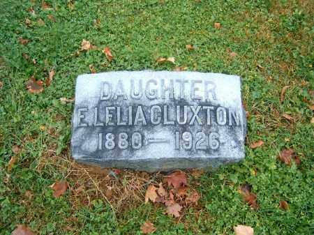 CLUXTON, E  LELIA - Brown County, Ohio | E  LELIA CLUXTON - Ohio Gravestone Photos