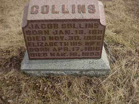 COLLINS, JACOB - Brown County, Ohio | JACOB COLLINS - Ohio Gravestone Photos