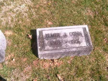 CONN, ELMER  J - Brown County, Ohio | ELMER  J CONN - Ohio Gravestone Photos