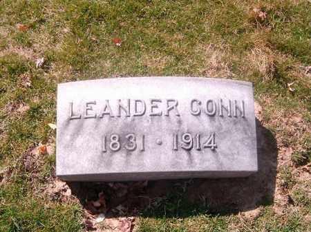 CONN, LEANDER - Brown County, Ohio | LEANDER CONN - Ohio Gravestone Photos