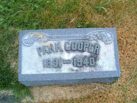 COOPER, PARK - Brown County, Ohio | PARK COOPER - Ohio Gravestone Photos