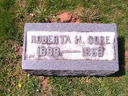 CORE, ROBERTA   H - Brown County, Ohio | ROBERTA   H CORE - Ohio Gravestone Photos