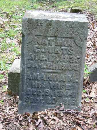 COURTS, NATHAN - Brown County, Ohio | NATHAN COURTS - Ohio Gravestone Photos
