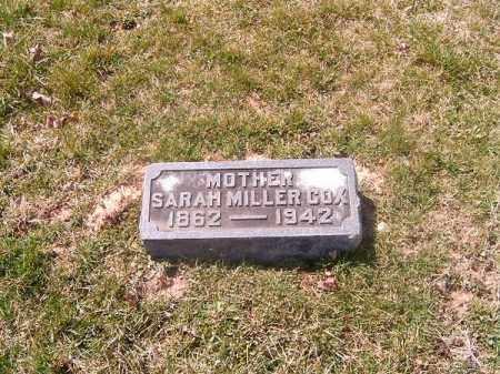 COX, SARAH - Brown County, Ohio   SARAH COX - Ohio Gravestone Photos