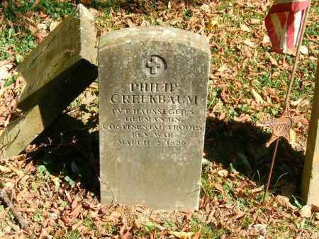 CREEKBAUM, PHILLIP - Brown County, Ohio | PHILLIP CREEKBAUM - Ohio Gravestone Photos