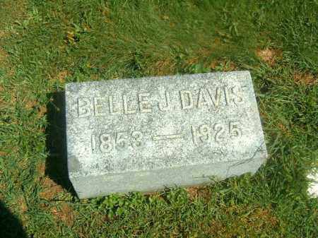 DAVIS, BELLE  J - Brown County, Ohio | BELLE  J DAVIS - Ohio Gravestone Photos