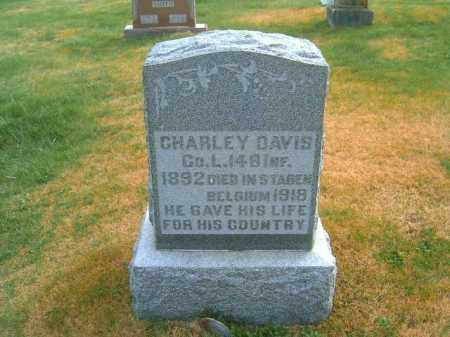 DAVIS, CHARLEY - Brown County, Ohio | CHARLEY DAVIS - Ohio Gravestone Photos