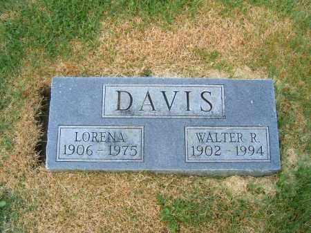 DAVIS, WALTER  R - Brown County, Ohio | WALTER  R DAVIS - Ohio Gravestone Photos