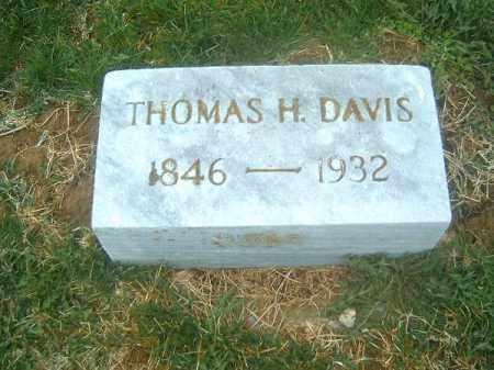 DAVIS, THOMAS  H - Brown County, Ohio | THOMAS  H DAVIS - Ohio Gravestone Photos