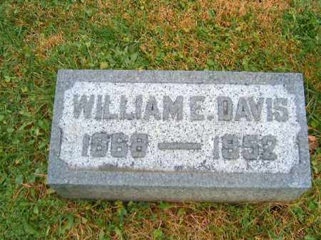 DAVIS, WILLIAM   E - Brown County, Ohio | WILLIAM   E DAVIS - Ohio Gravestone Photos
