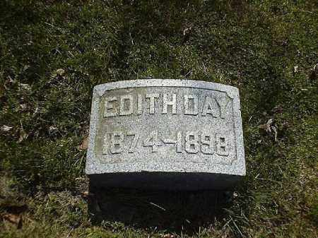 DAY, EDITH - Brown County, Ohio   EDITH DAY - Ohio Gravestone Photos