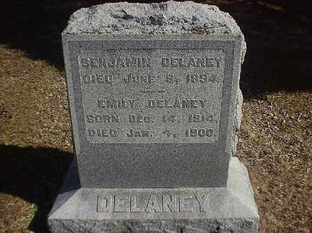 DELANEY, EMILY - Brown County, Ohio | EMILY DELANEY - Ohio Gravestone Photos