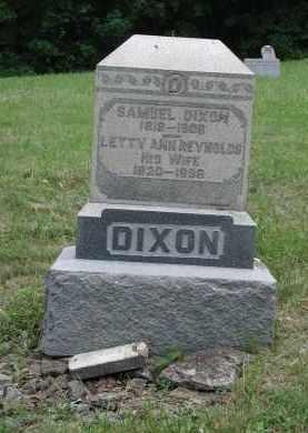 DIXON, SAMUEL - Brown County, Ohio | SAMUEL DIXON - Ohio Gravestone Photos