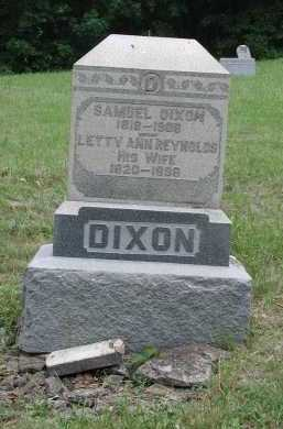 DIXON, SAMUEL - Brown County, Ohio   SAMUEL DIXON - Ohio Gravestone Photos