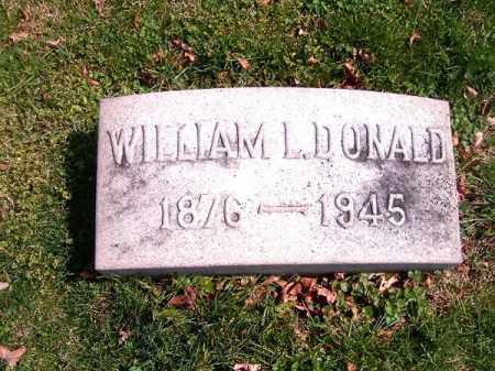 DONALD, WILLIAM  L - Brown County, Ohio | WILLIAM  L DONALD - Ohio Gravestone Photos