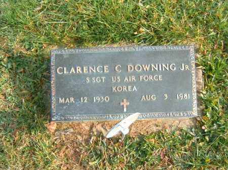 DOWNING, CLARENCE  C  JR - Brown County, Ohio   CLARENCE  C  JR DOWNING - Ohio Gravestone Photos
