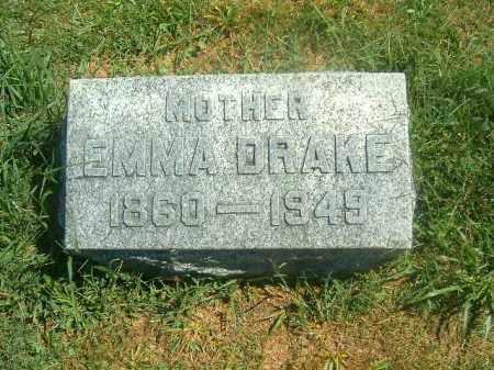 DRAKE, EMMA - Brown County, Ohio | EMMA DRAKE - Ohio Gravestone Photos