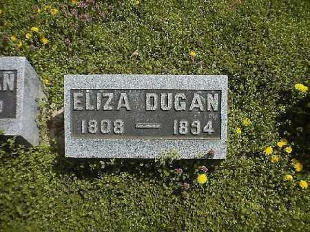 DUGAN, ELIZA - Brown County, Ohio | ELIZA DUGAN - Ohio Gravestone Photos