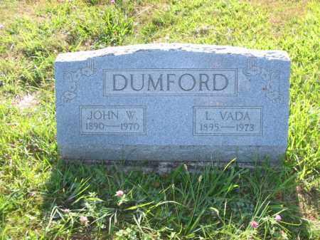 DUMFORD, LILLIAN VADA - Brown County, Ohio   LILLIAN VADA DUMFORD - Ohio Gravestone Photos