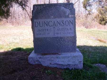 DUNCANSON, AGUSTA  B - Brown County, Ohio | AGUSTA  B DUNCANSON - Ohio Gravestone Photos
