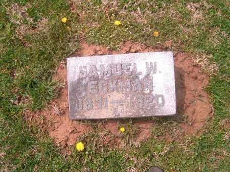 ECKMAN, SAMUEL  W - Brown County, Ohio | SAMUEL  W ECKMAN - Ohio Gravestone Photos