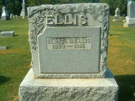 ELLIS, GEORGE  M - Brown County, Ohio   GEORGE  M ELLIS - Ohio Gravestone Photos