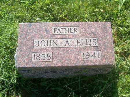 ELLIS, JOHN   A - Brown County, Ohio | JOHN   A ELLIS - Ohio Gravestone Photos