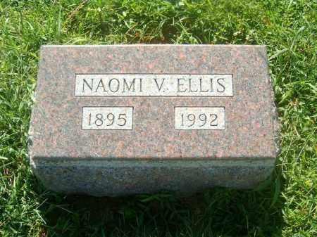ELLIS, NAOMI   V - Brown County, Ohio | NAOMI   V ELLIS - Ohio Gravestone Photos