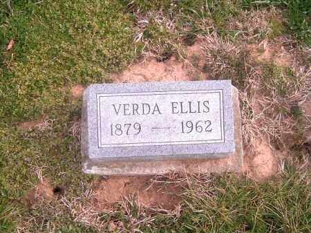 ELLIS, VERDA - Brown County, Ohio   VERDA ELLIS - Ohio Gravestone Photos