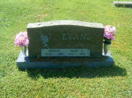 EVANS, BROOKS - Brown County, Ohio | BROOKS EVANS - Ohio Gravestone Photos